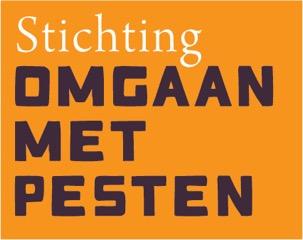 StOMP logo - Oranje achtergrond